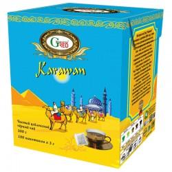 "Gred Schwarzer Tee ""Karawan"" 3g x 100"