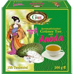 Gred Grüner Tee mit Anoda 2g x 100