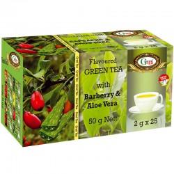 Art. 1061 Gred Grüner Tee mit Barbaris & Aloe Vera 2g x 30