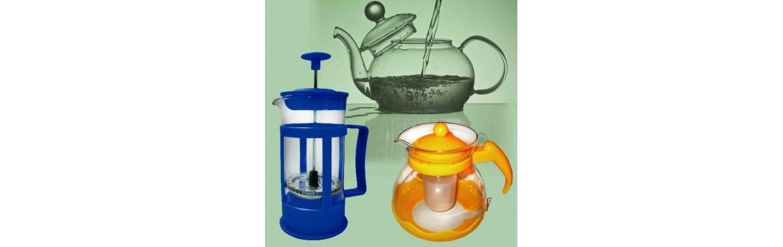 Glas Tee Kannen