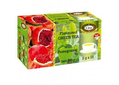"Item no. 1056 Gred Green Tea ""Strawberry\"" 2g x 25"