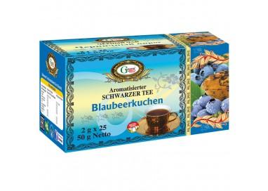 """Art. 1047 Gred Schwarzer Tee """"Erdbeer-Sahne"""" 120g"""