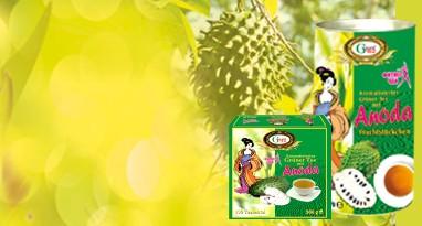 Free shippingCeylon grüner Tee  mit Anoda Frucht